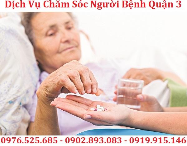 dịch vụ chăm sóc bệnh nhân quận 3 uy tín