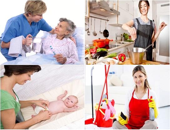 dịch vụ giúp việc gia đình chuyên nghiệp