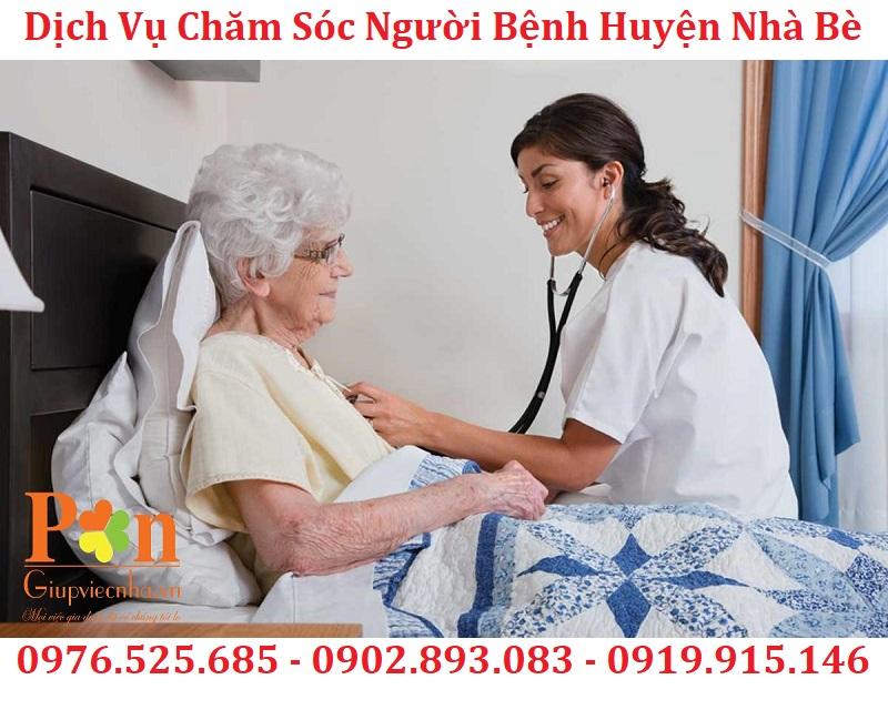 dịch vụ chăm sóc bệnh nhân huyện nhà bè uy tín