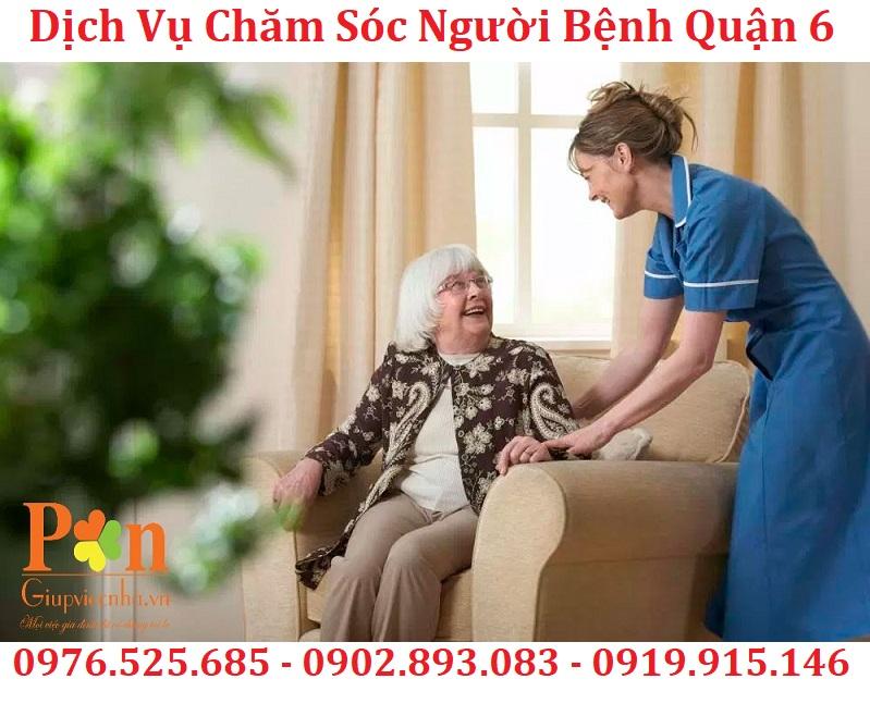 dịch vụ chăm sóc bệnh nhân quận 6 uy tín