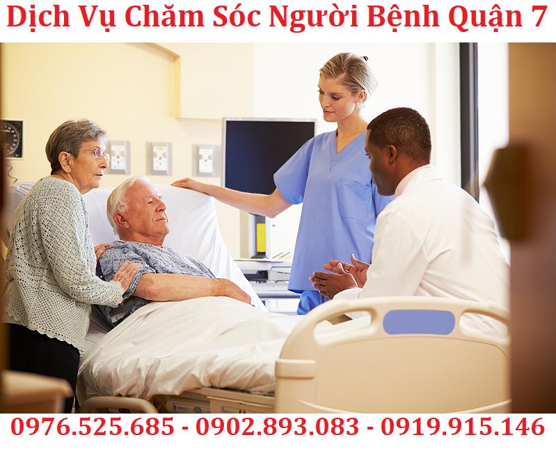 dịch vụ chăm sóc bệnh nhân quận 7 uy tín