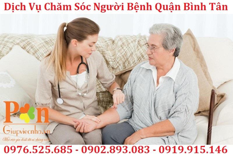 dịch vụ chăm sóc bệnh nhân quận bình tân