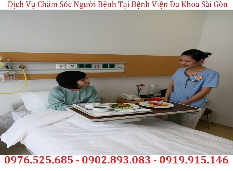 dịch vụ chăm sóc người bệnh tại bệnh viện đa khoa sài gòn