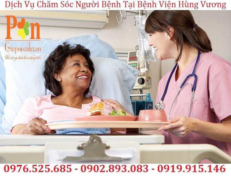 dịch vụ chăm sóc người bệnh tại bệnh viện hùng vương