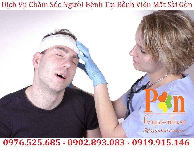 dịch vụ chăm sóc người bệnh tại bệnh viện mắt sài gòn