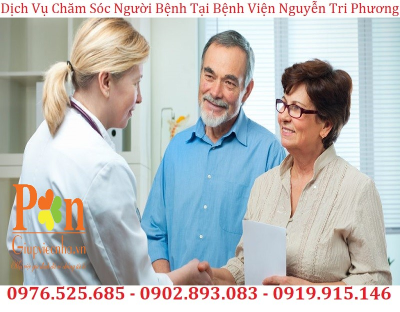 dịch vụ chăm sóc người bệnh tại bệnh viện nguyễn tri phương