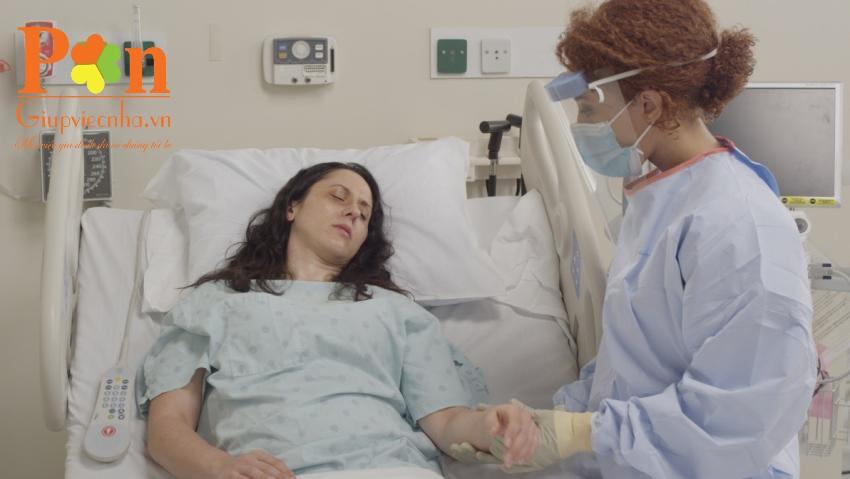 dịch vụ chăm sóc người bệnh tại bệnh viện ung bướu giá rẻ