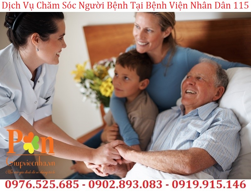 dịch vụ chăm sóc người bệnh tại bệnh viện nhân dân 115