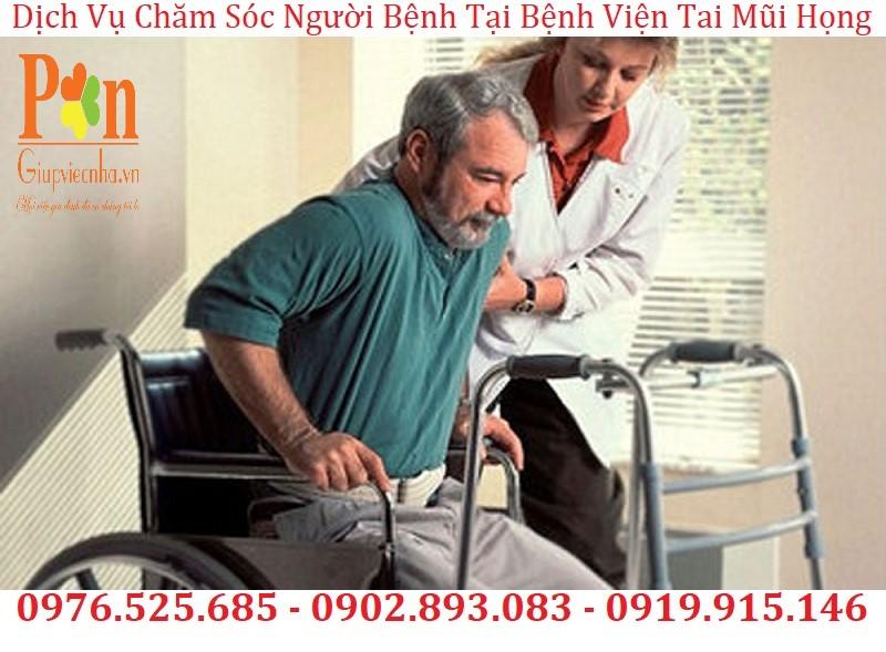 dịch vụ chăm sóc người bệnh tại bệnh viện tai mũi họng