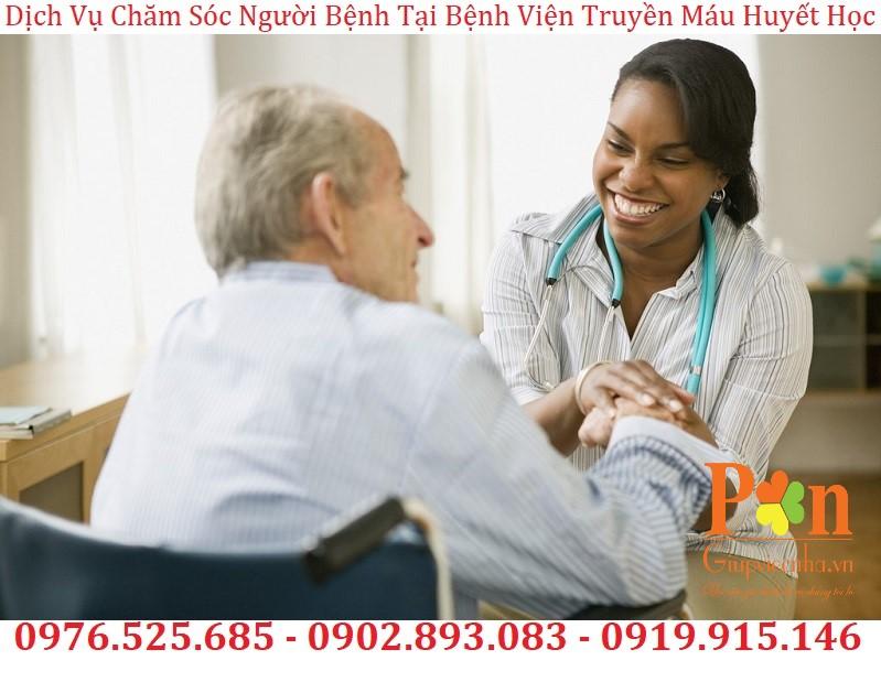 dịch vụ chăm sóc người bệnh tại bệnh viện truyền máu huyết học