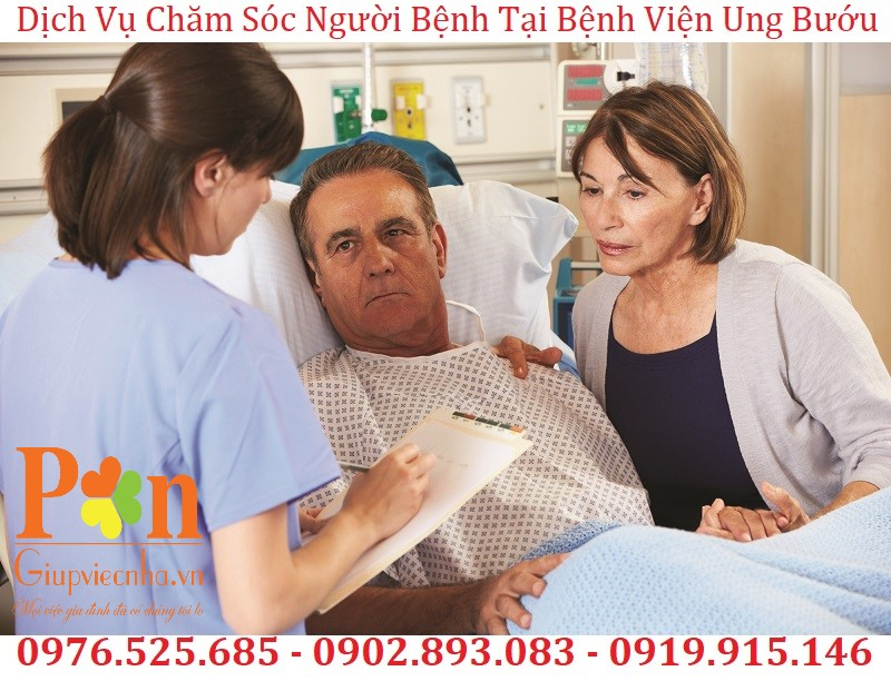 dịch vụ chăm sóc người bệnh tại bệnh viện ung bướu