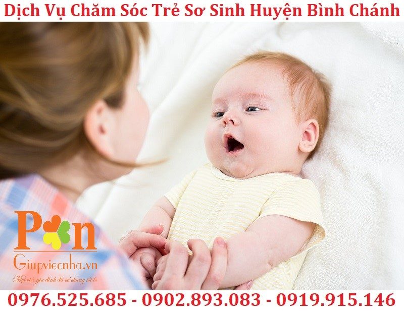 dịch vụ giữ em bé huyện bình chánh