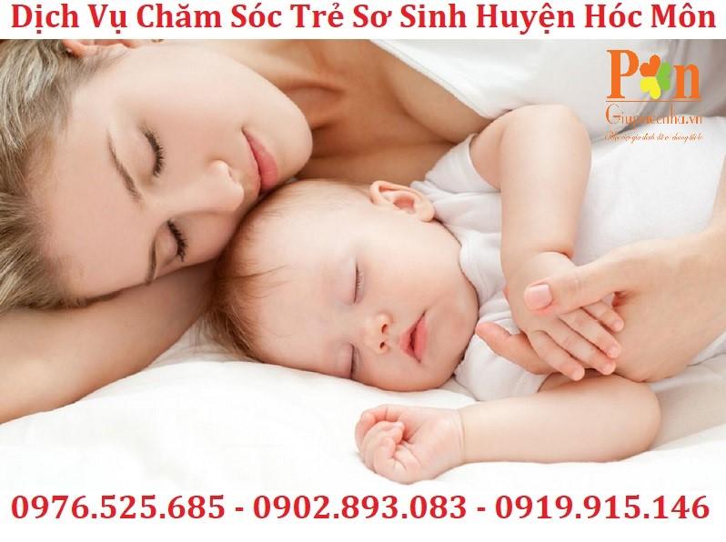 dịch vụ giữ em bé huyện Hóc Môn