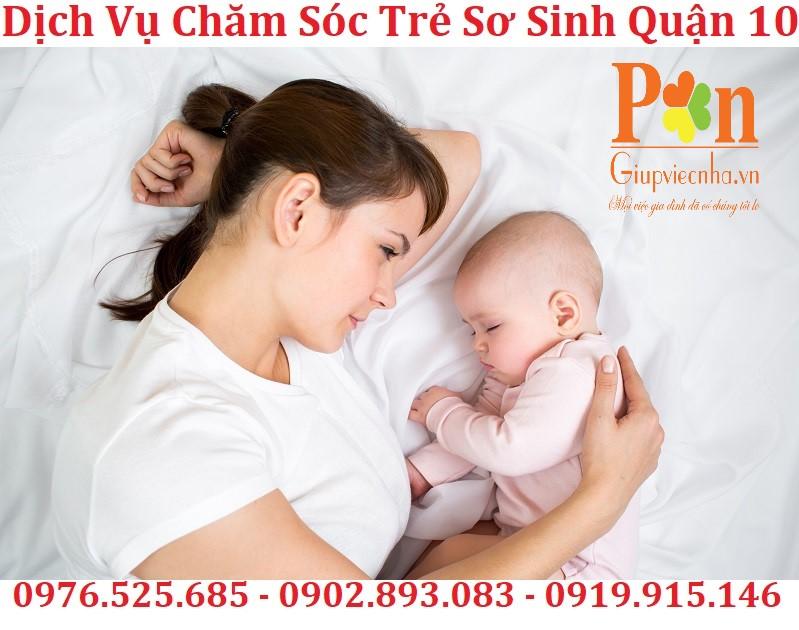 dịch vụ chăm sóc trẻ sơ sinh quận 10