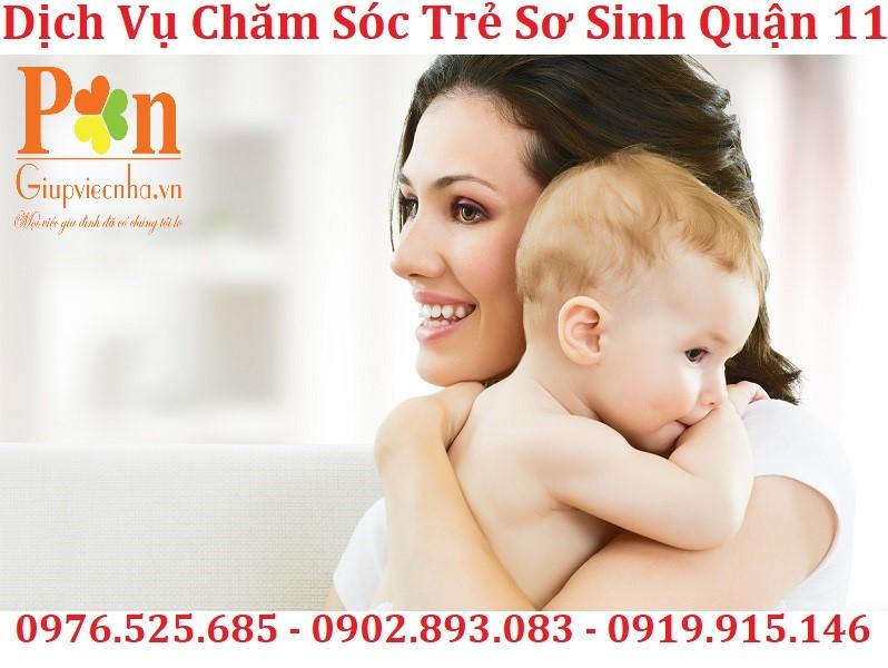dịch vụ chăm sóc trẻ sơ sinh quận 11