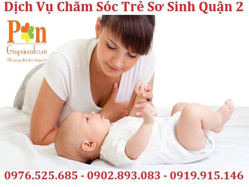 dịch vụ giữ em bé quận 2 chất lượng