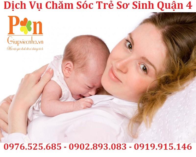dịch vụ chăm sóc em bé quận 4