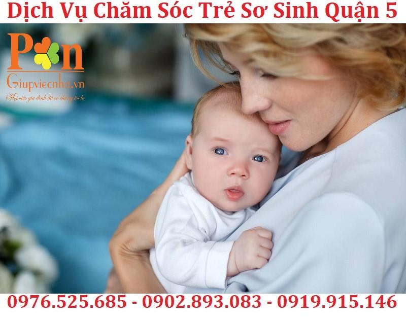 dịch vụ giữ em bé quận 5 chất lượng