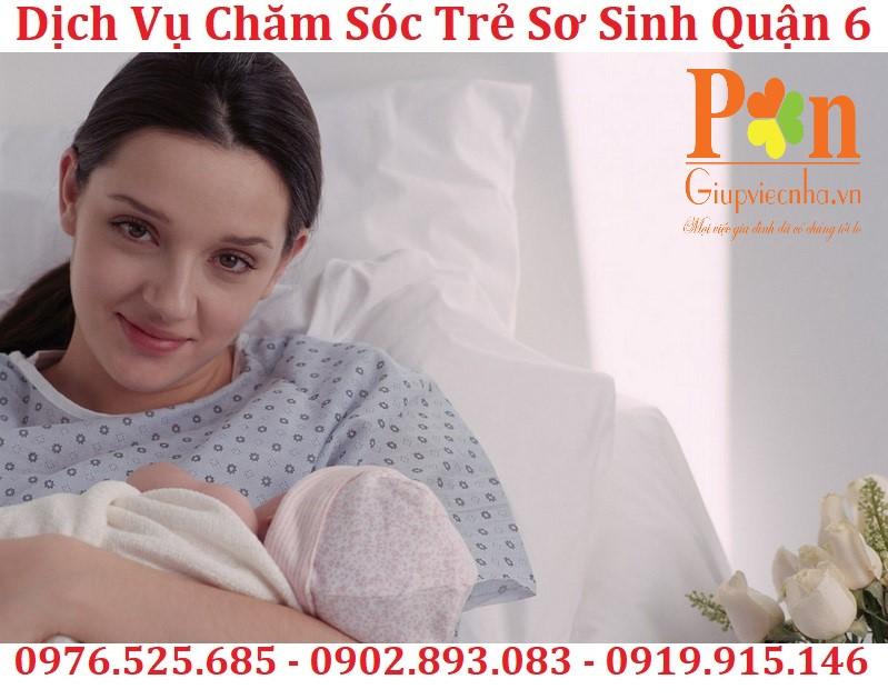 dịch vụ chăm sóc trẻ sơ sinh quận 6