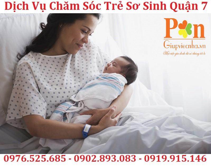 dịch vụ giữ em bé quận 7 chất lượng
