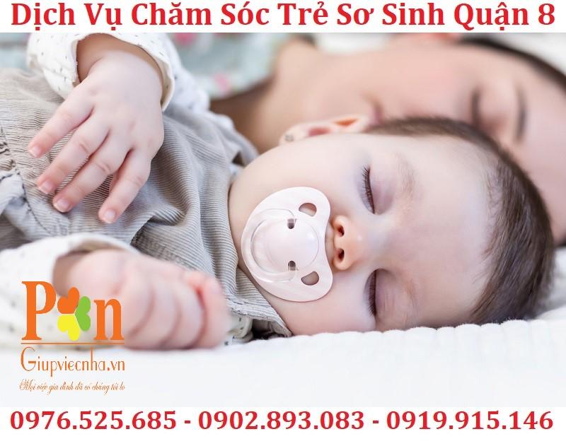 dịch vụ giữ em bé quận 8 chất lượng