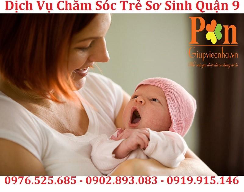 dịch vụ giữ em bé quận 9 chất lượng
