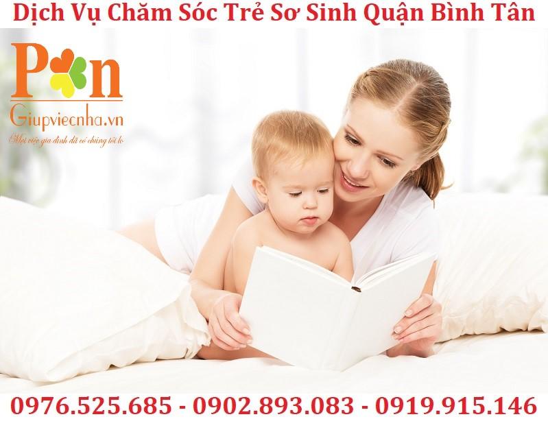 Dịch vụ giữ em bé quận Bình Tân chất lượng