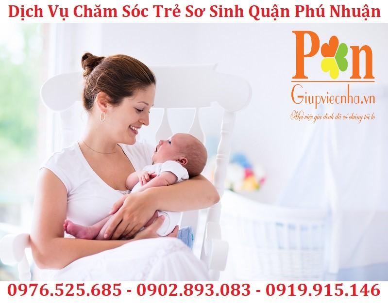 Dịch vụ giữ em bé quận Phú Nhuận chất lượng