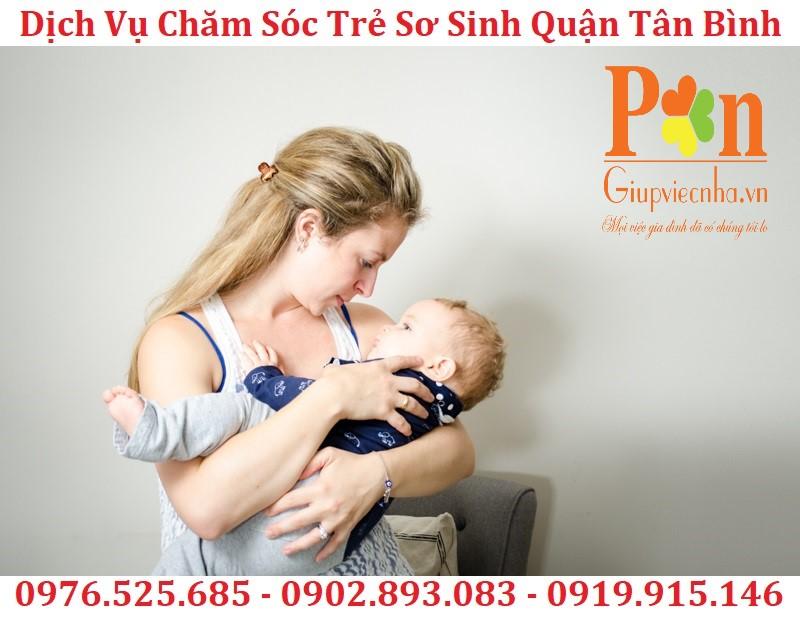dịch vụ giữ em bé quận tân bình chất lượng