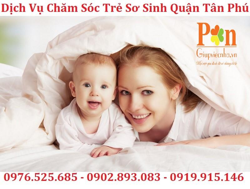 Dịch vụ giữ em bé quận Tân Phú chất lượng