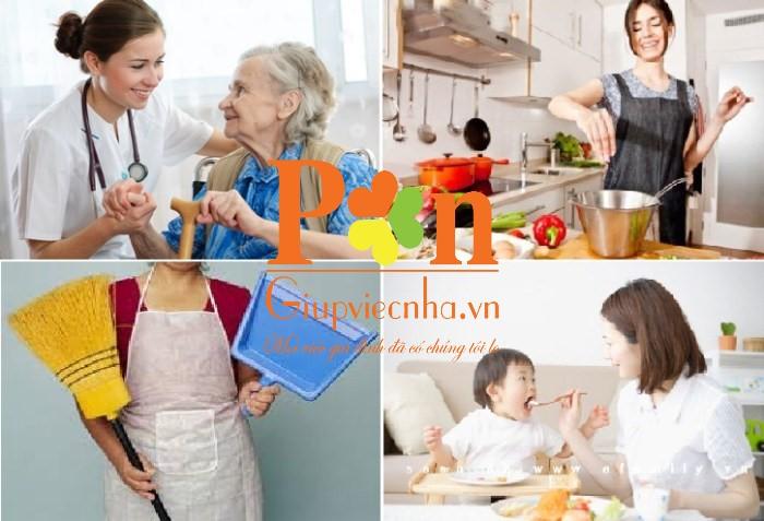 Dịch vụ giúp việc nhà ăn ở lại giá rẻ
