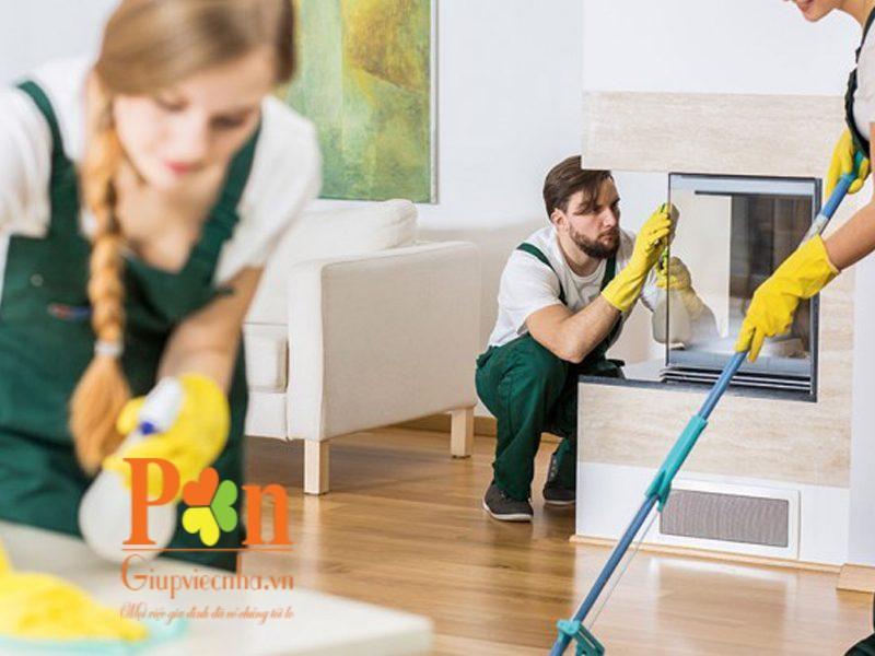 Dịch vụ tổng vệ sinh nhà đột xuất chuyên nghiệp